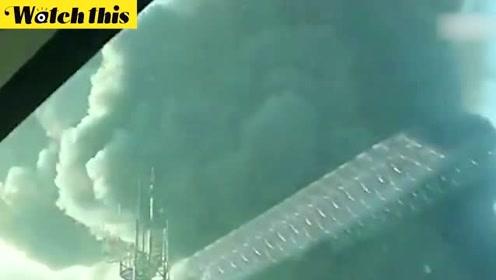 韩国妇产医院起火数百名患者逃往屋顶 浓烟笼罩天空