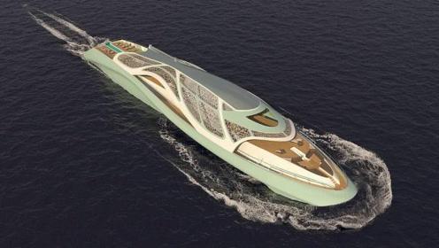 """意大利拟造""""邦德风""""游艇:配置奢华造价数十亿,还可变成潜艇入水300米"""