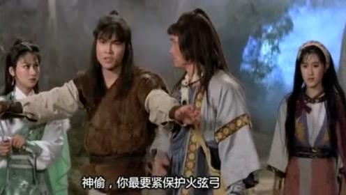 少侠使出灵王宝剑大战琴魔,谁料六弦琴坚不可摧,宝剑瞬间被打飞图片