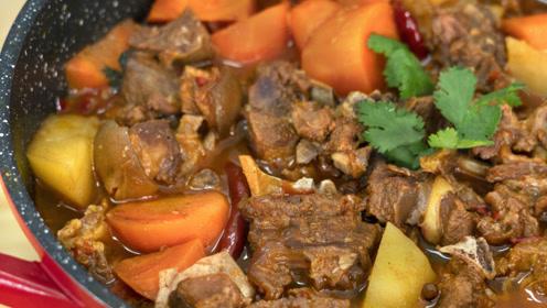 羊肉这样做太馋人了,鲜嫩无膻味,越炖越入味,全家人都爱吃!