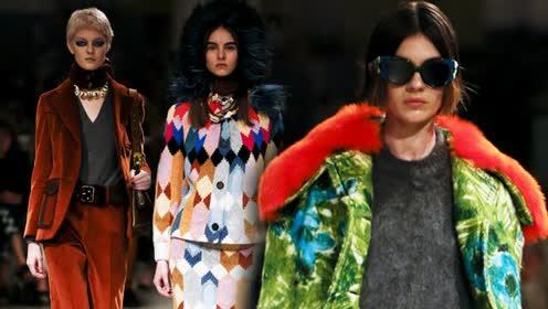 2017秋冬米兰时装周:Prada既嬉皮又摩登的文艺女