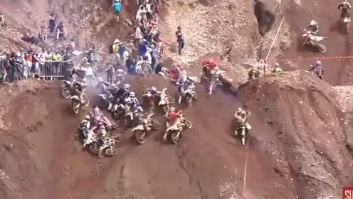 摩托车越野赛出新高度