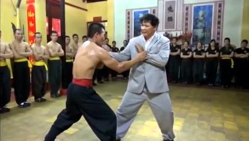 世界上最厉害的格斗术,功夫大师现场教学擒拿术,招招危险