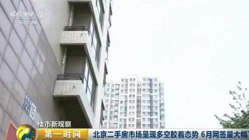 北京二手房市场呈现多空胶着态势 6月网签量大幅下滑
