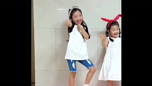 罗夏恩和妹妹的自编舞蹈!太有才了!