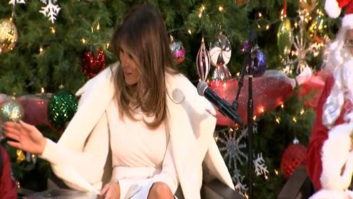 盘点第一夫人梅兰妮亚这一年 曾当着全世界面甩开特朗普的手