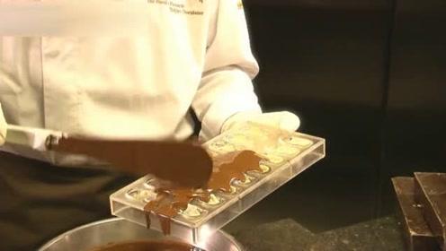 看得我好想吃!原来精致的巧克力是这样做的
