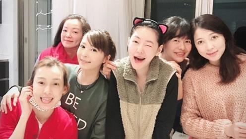 """大小S的""""七仙女""""姐妹团聚会,却不见吴佩慈范晓萱"""