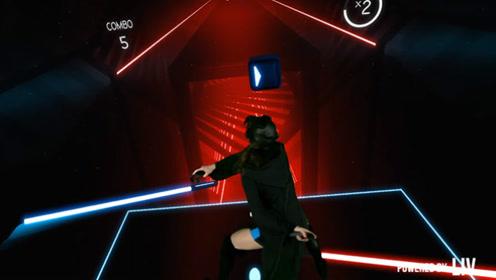 当音乐游戏遇上VR技术 出刀的一刹那就被帅哭了
