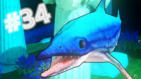 xy小源 海底大猎杀 第34期 这是什么鱼 狂吃鲨鱼