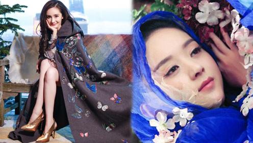女星古装斗篷大比拼,赵丽颖凄美迪丽热巴怜人,第一名是真正的仙女