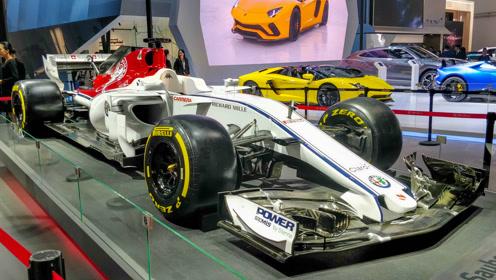 空气动力套件覆盖全车 解析阿尔法·罗密欧 F1赛车
