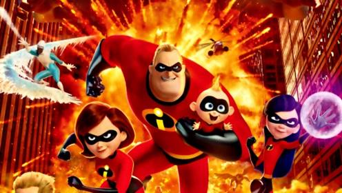 《超人总动员2》正式预告 超人一家团体合作吊打反派