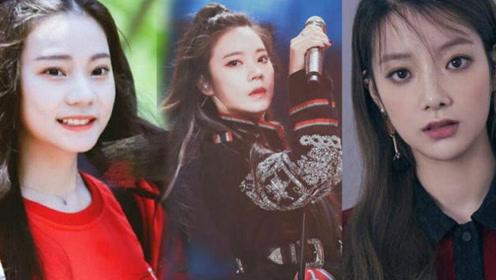 撞脸韩国女团成员?紫宁人气爆发被赞门面美貌