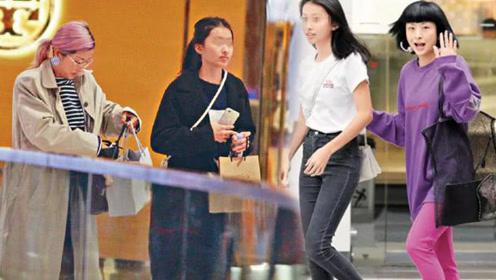 陈奕迅女儿比妈妈还要高挑 徐濠萦全职照顾女儿生活