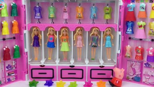 芭比小公主亲子过家家 粉红小猪玩具