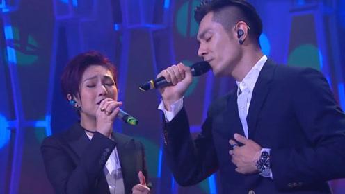 杨千嬅、周柏豪新歌《背后女人》现场版,唱出女人的心声