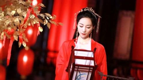 35岁韩雪古风扮相令人惊艳,一身红衣如仙女下凡,美得不可方物