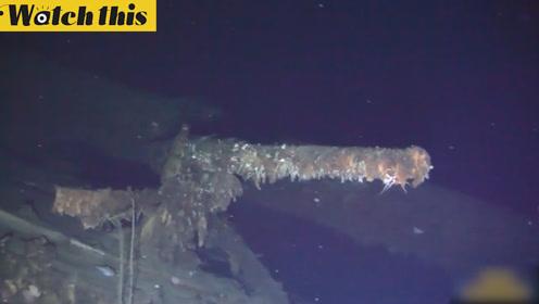 沙俄军舰沉海百年后被发现 可能载有200多吨黄金
