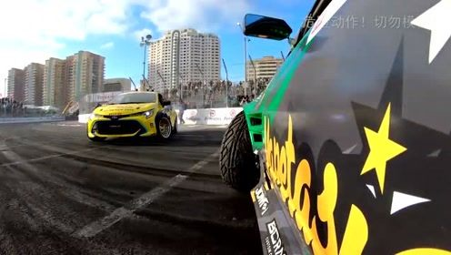 第一视角!带你体验惊险的赛车竞速!