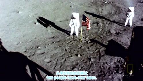 1969年美国阿波罗11号真实登月视频,全人类的壮举!