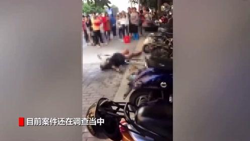 广西街头孕妇被故意点火烧伤 险酿惨案