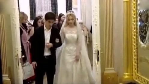 俄新娘嫁富豪 光是嫁妆箱就值200万,里面装的啥?