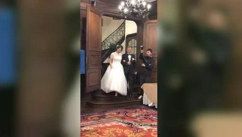 出嫁的第一只舞,应该属于爸爸