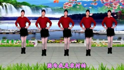 广场舞《闯码头》32步附教学