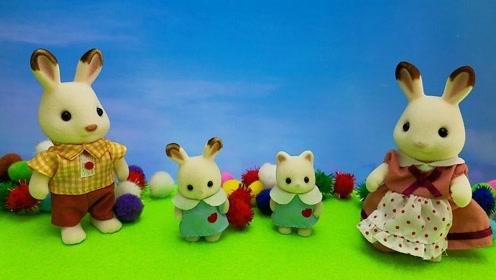 小兔子手工diy折纸胡萝卜的方法