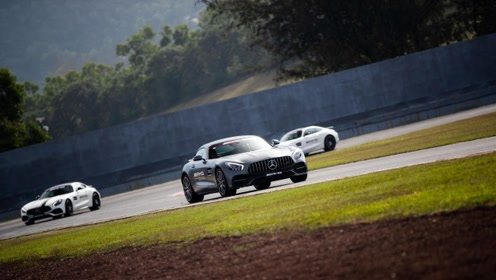 谁说跑得快的车不舒服 赛道试驾全系AMG