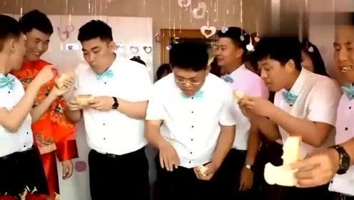 江苏一小伙结婚,伴郎团队这样玩的好开心啊
