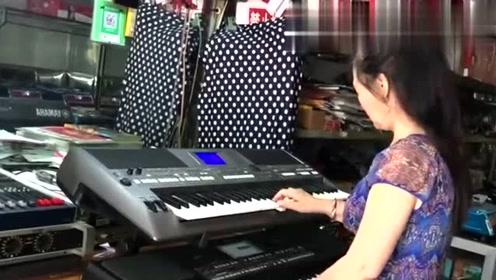 双电子琴演奏《好人一生平安》电视连续剧《渴望》插曲,没谁了!