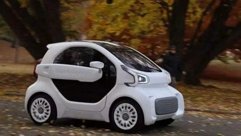 全球首款3D打印电动汽车,预计今年上市