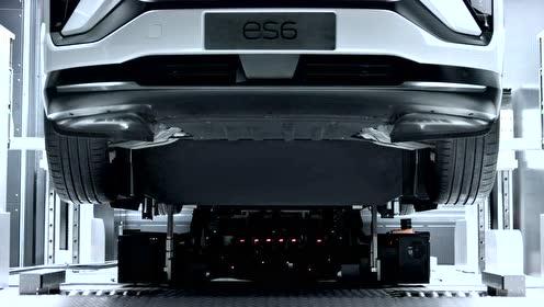 30秒带你了解蔚来ES6换电池全过程