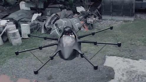 菲律宾人6年造无人机汽车,上班不怕堵车,将直接停在你家楼顶