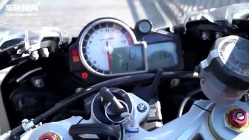 什么叫公升级跑车?一起听听这辆BMW S1000RR启动声浪