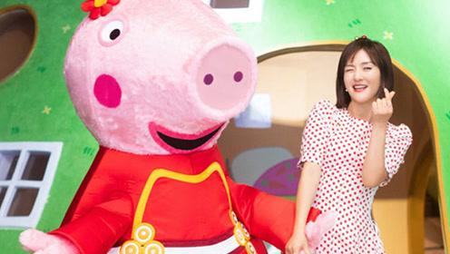 谢娜献唱电影《小猪佩奇过大年》同名主题曲MV