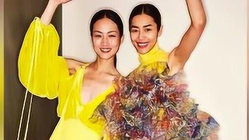 刘雯登纽约时装周走秀,台上台下状态大不同反差萌超可爱