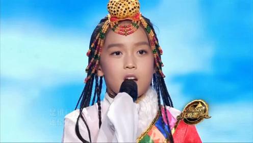 小女孩演唱《青藏高原》,小小的身躯,竟然唱出这么高的音!