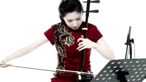 旗袍美女演奏二胡,堪称大师级的表演