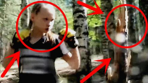 全球最强小萝莉,秒秒钟打断树木打裂房门,网友:太吓人