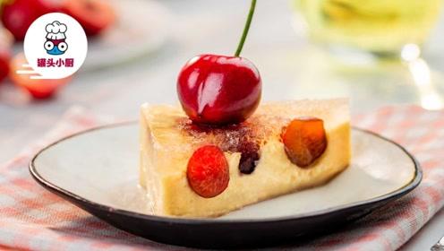 免烤车厘子汽水蛋糕,厨房小白也能轻松get的顶级甜品