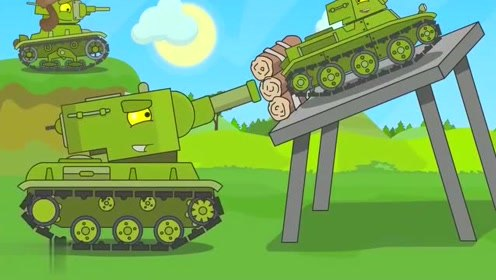 为了提高射程,小坦克特意搭了一个架子,德系:你是来搞笑的吧