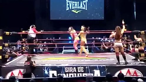 墨西哥摔角,没WWE那么多剧情,技术动作更具观赏性呢!