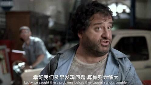 变相怪杰:男子的车去换个机油,老板却把整个刹车系统都换了