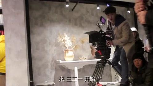 张艺兴扮专业摄像师《黄金瞳》片场小试牛刀,艺兴自信满满