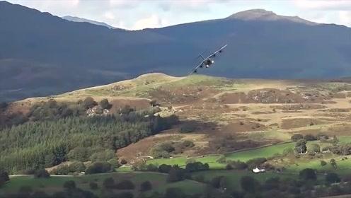空军基地:最佳的2019年马赫循环,低空山谷中飞行