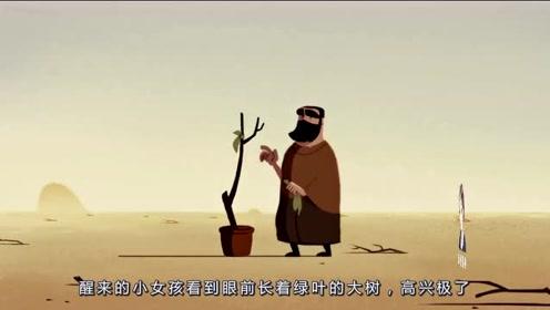 艰苦的生活环境下,父亲为了女儿,不惜牺牲生命保护树苗