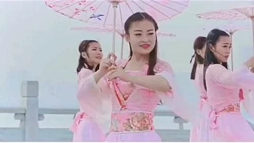 《烟雨行舟》古风舞,跳的舞步好看又易学
